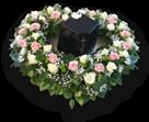 Laidotuvių vainikai, puokštės, gėlės. Laidojimo paslaugos Vilkaviškyje